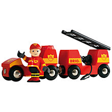Buy Brio Light and Sound Fire Engine Online at johnlewis.com