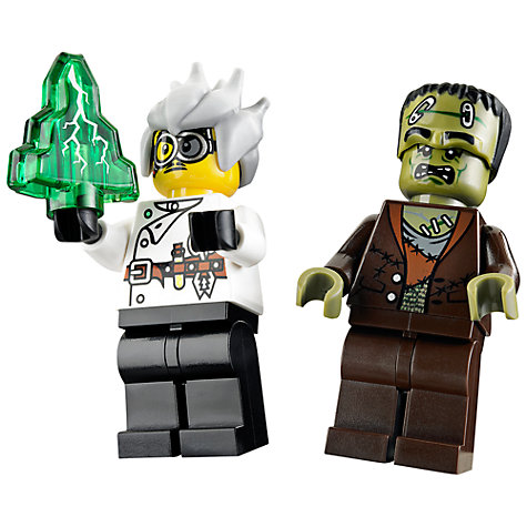 Buy LEGO Monster Fighters The Crazy Scientist and His Monster Set Online at johnlewis.com