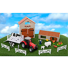 Buy Massey Ferguson Farm Yard Playset Online at johnlewis.com
