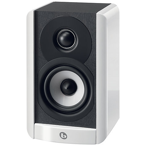 Buy Boston Acoustics A23 Bookshelf Speaker, White Online at johnlewis.com