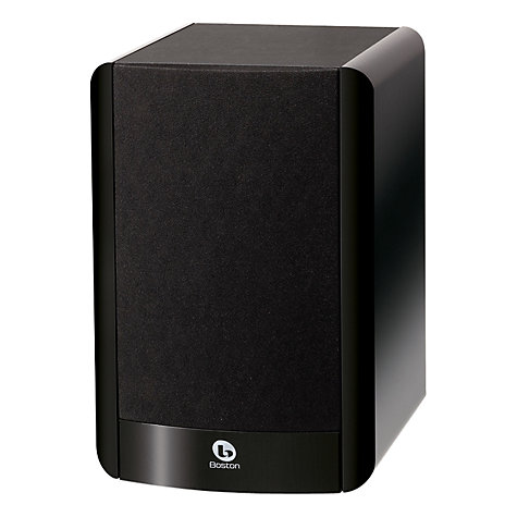 Buy Boston Acoustics A25 Bookshelf Speaker, Black Online at johnlewis.com