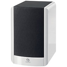 Buy Boston Acoustics A25 Bookshelf Speaker, White Online at johnlewis.com