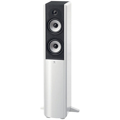 Buy Boston Acoustics A250 Floor Speaker, White Online at johnlewis.com