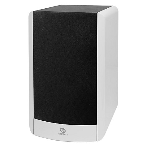 Buy Boston Acoustics A26 Bookshelf Speaker, White Online at johnlewis.com