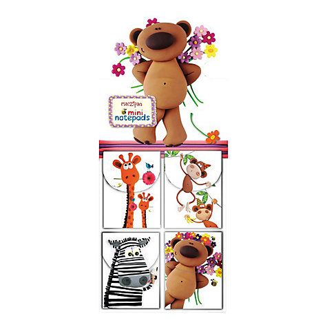 Buy Mini Animal Notepad, Assorted Online at johnlewis.com