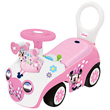 Buy Disney Mini Mouse Ride-On, Pink Online at johnlewis.com
