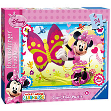 Buy Ravensburger Disney Minnie Mouse Floor Puzzle Online at johnlewis.com