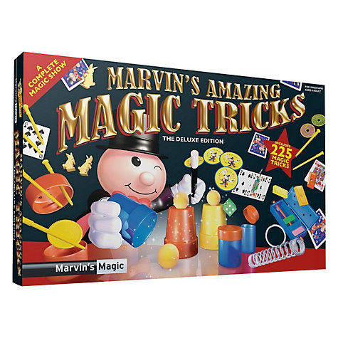 Buy Marvin's Magic Amazing Box Of Tricks Online at johnlewis.com