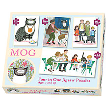 Buy Mog 4 In A Box Puzzle Set Online at johnlewis.com