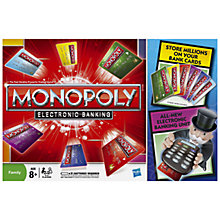 Buy MB Games Monopoly Electronic Banking Online at johnlewis.com
