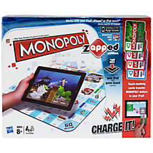 Buy MB Games Monopoly, Zapped Edition Online at johnlewis.com