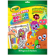 Buy Crayola Colour Wonder, Moshi Monsters Online at johnlewis.com