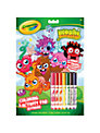 Crayola Colouring Book, Moshi Monsters