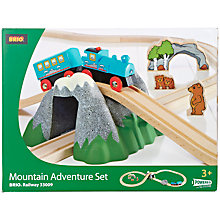 Buy Brio Mountain Adventure Set Online at johnlewis.com