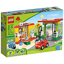 Buy LEGO Duplo My First Gas Station Online at johnlewis.com