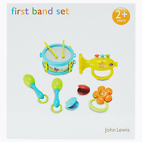 Buy John Lewis My First Band Set Online at johnlewis.com