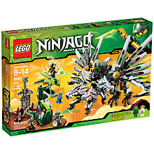 Buy Lego Ninjago Epic Dragon Battle Set Online at johnlewis.com