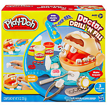Buy Play-Doh Dr Drill N Fill Game Online at johnlewis.com