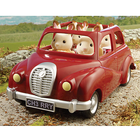 Buy Sylvanian Red Saloon Car Online at johnlewis.com