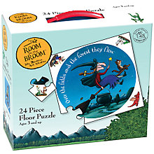 Buy Room On The Broom Floor Puzzle, 24 Piece Online at johnlewis.com
