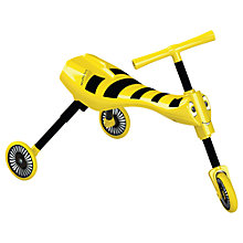 Buy Mookie Scuttlebug Trike, Bumble Bee Online at johnlewis.com
