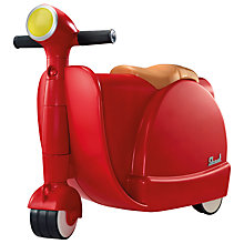 Buy Skoot Ride-On and Pull-Along Suitcase, Red Online at johnlewis.com