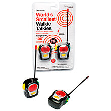 Buy World's Smallest Walkie Talkies Online at johnlewis.com