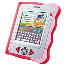 Buy V-Tech Storio E-Reading System, Pink Online at johnlewis.com