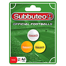 Buy Subbuteo Ball Set Online at johnlewis.com