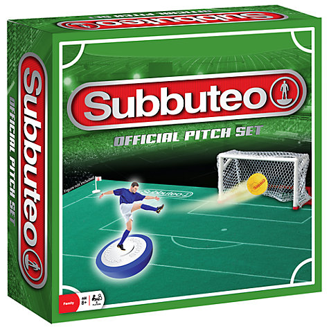Buy Subbuteo Pitch Set Online at johnlewis.com
