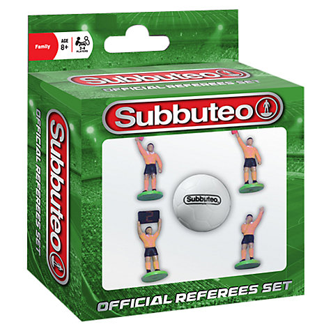 Buy Subbuteo Referee Set Online at johnlewis.com