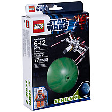 Buy LEGO Star Wars X-Wing Starfighter & Yavin-4 Online at johnlewis.com