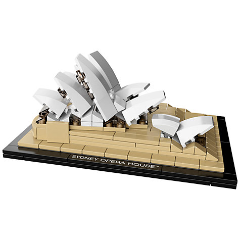 Buy LEGO Architecture Sydney Opera House Online at johnlewis.com