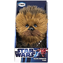 "Buy Star Wars 9"" Talking Plush, Assorted Online at johnlewis.com"