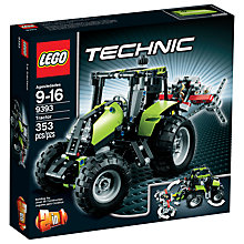 Buy LEGO Technic Tractor 2-in-1 Set Online at johnlewis.com