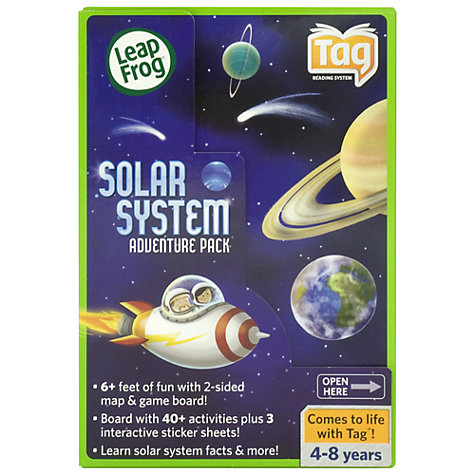 Buy LeapFrog Tag Solar System Adventure Pack Online at johnlewis.com