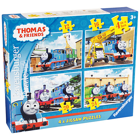 Buy Ravensburger Thomas The Tank Engine Jigsaw Puzzles, Box of 4 Online at johnlewis.com