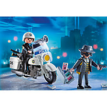 Buy Playmobil Policeman or Pirate Carry Case, Assorted Online at johnlewis.com
