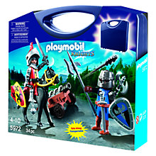 Buy Playmobil Princess, Fireman or Knight Carry Case, Assorted Online at johnlewis.com