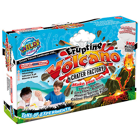 Buy Wild Science Erupting Volcano Crater Factory Online at johnlewis.com