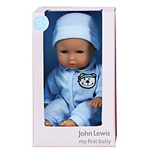 "Buy John Lewis 12"" My First Baby Doll, Boy Online at johnlewis.com"