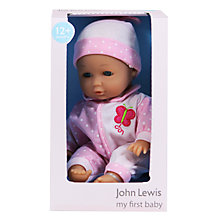 "Buy John Lewis 12"" My First Baby Doll, Girl Online at johnlewis.com"