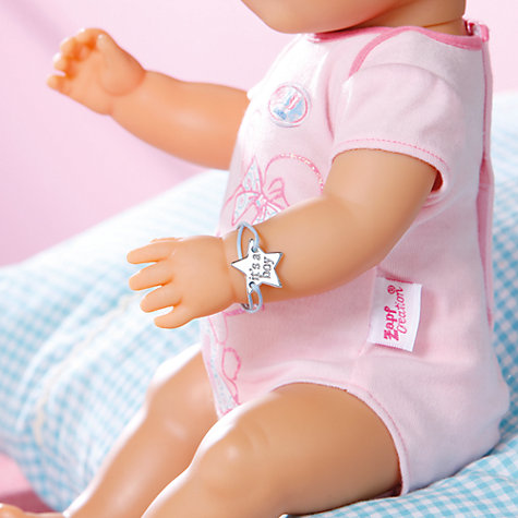 Buy Baby Born Interactive Doll, Girl Online at johnlewis.com