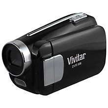 "Buy Vivitar DVR 638 Camcorder, 16GB, 2.0"" LCD Screen, Black Online at johnlewis.com"