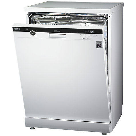 Buy LG D1453WF Dishwasher, White Online at johnlewis.com