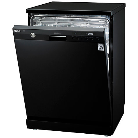 Buy LG D1454BF Dishwasher, Black Online at johnlewis.com