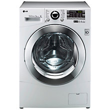 Buy LG F14A8FD Washing Machine, 9kg Load, A+++ Energy Rating, 1400rpm Spin, White Online at johnlewis.com