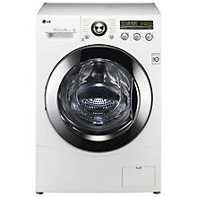 Buy LG F1681TD Washing Machine, 8kg Load, A+++ Energy Rating, 1600rpm Spin, White Online at johnlewis.com