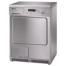 Buy Miele T8828C Condenser Tumble Dryer, 7kg Load, B Energy Rating, Stainless Steel Online at johnlewis.com
