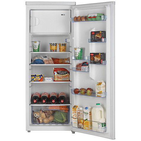Buy LEC TR55142W Tall Fridge, A+ Energy Rating, 55cm Wide, White Online at johnlewis.com